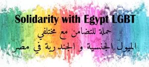 حملة للتضامن مع مختلفي الميول الجنسية و الجندرية في مصر Solidarity with Egypt LGBT